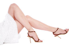 Long legs Royalty Free Stock Photography
