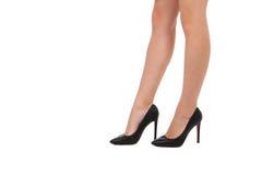 Long legs in high heels Royalty Free Stock Photo
