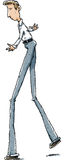 Long Legs Man Royalty Free Stock Photo
