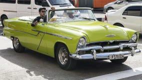 American classic convertible car, Havana, Cuba Stock Image