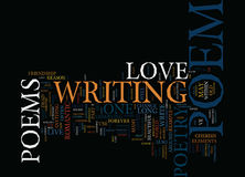Long Live The Love Poem Text Background  Word Cloud Concept Royalty Free Stock Photo