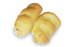 Long loaf bread Stock Photography