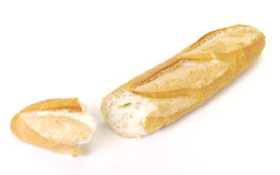 Long loaf isolated Royalty Free Stock Photos