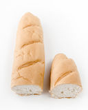 Long loaf isolated Stock Photos
