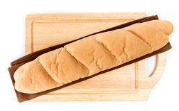 Long loaf isolated Royalty Free Stock Image