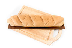Long loaf isolated Royalty Free Stock Photo