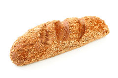 Long loaf made of rye bread stock photography