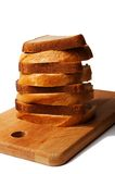 Long loaf and rye bread Stock Photo