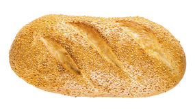 Long loaf with sesame Royalty Free Stock Photos