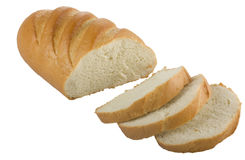 Long loaf sliced bread Royalty Free Stock Images