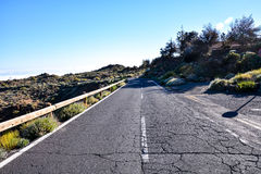 Long Lonely Road Royalty Free Stock Photography