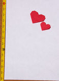A long love letter. Just for the dearest person Royalty Free Stock Photos
