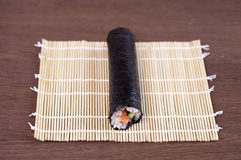 Long makis roll Royalty Free Stock Image