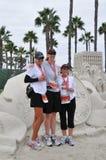long marathon de la 25ème plage 2009 Photo stock