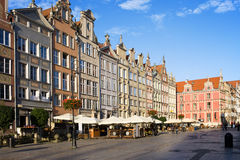 Long Market in Gdansk Stock Photography
