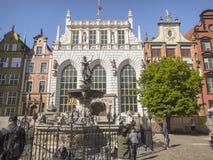Long Market in Gdansk Royalty Free Stock Image