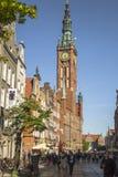 Long Market in Gdansk Stock Photo