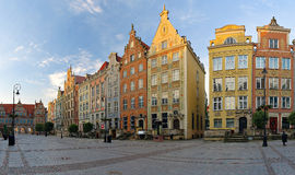 Long Market Square in Gdansk Royalty Free Stock Photos