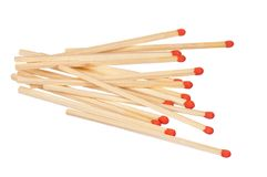 Long Matches Royalty Free Stock Images
