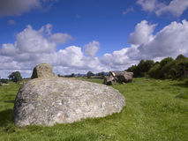 Long Meg Daughters Stock Image