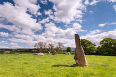 Long Meg and her daughters Stock Photo