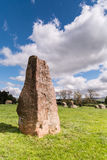 Long Meg monolith Stock Images
