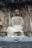 Long men Grottoes Royalty Free Stock Images