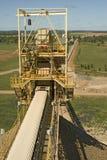 Long mine conveyor Stock Photos