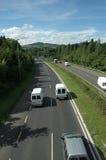 Long Motorway Royalty Free Stock Images