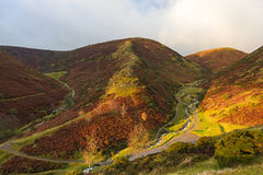 Long Mynd. Sunrise at The Long Mynd Royalty Free Stock Image
