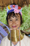 Long Neck Karen. The Karen  are a group of ethnic peoples  who in Burma and Thailand Stock Images