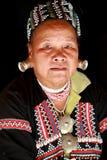 Long neck tribe in Thailand Stock Photos