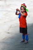 Long neck tribe, Thailand Royalty Free Stock Photo