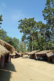 Long neck tribe village Stock Photography