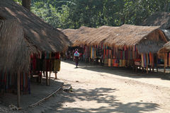 Long neck tribe village Royalty Free Stock Photography