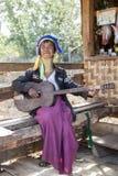 Long-Neck Woman, Myanmar Royalty Free Stock Images