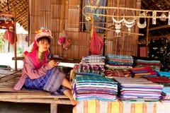 Long neck woman, Thailand Royalty Free Stock Photo