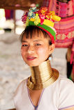 Long neck woman in Thailand Royalty Free Stock Photo