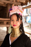 Long neck woman in Thailand Royalty Free Stock Photos