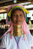 Long-necked Kayan Lahwi woman Royalty Free Stock Photography