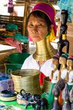 Long Necked Woman,Thailand Royalty Free Stock Photo