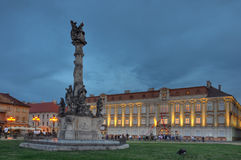 Long Night of Museums,Union Square,Timisoara Royalty Free Stock Photos