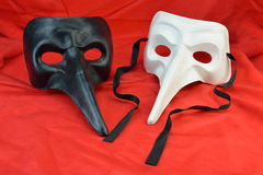 Long nose masks Stock Images