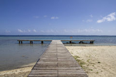 Long ocean pier Royalty Free Stock Photography