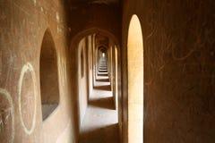 Free Long Old Corridor In Wonderful Monument Called Bara Imambara Stock Photography - 56771342