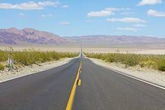 Long Open Highway Stock Photos