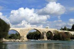 Long bridge Royalty Free Stock Images
