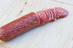 Long pain la saucisse fumée Image stock