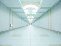Long passageway Royalty Free Stock Photography