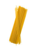 Long pasta isolated. Raw bunch Royalty Free Stock Photography